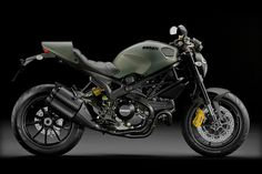 The Ducati Monster Diesel Motorcycle ($14,000) is based on Ducati's Monster 1100 EVO, and designed by Diesel's fashion stylists, led by company founder Renzo Rosso himself.