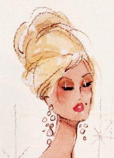 Barbie Sketch by Robert Best