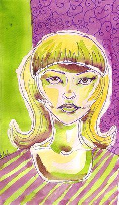 limonka (watercolor, ink)