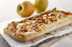 Free-Form Harvest Apple Tart recipe