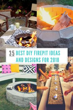 35 Best DIY Firepit Ideas and Designs for 2018 - Awesome Firepits To Try