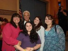 At the Family Cafe with Governor Crist