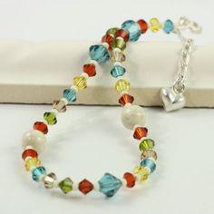carnival colors bracelet - so pretty!