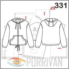 Pattern of women's jackets Cape Jacket, Jacket Pattern, Jackets For Women, Women's Jackets, Sewing Clothes, Mantel, Sewing Patterns, Coat, Sweaters