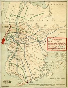 This Is What Brooklyn's Transit System Looked Like a Century Ago