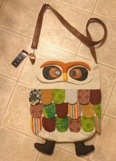 Owl Messenger / Satchel / Book Bag