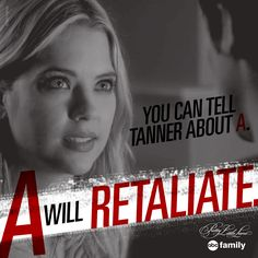 A won this round.   Pretty Little Liars Quotes