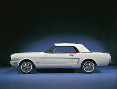 Ford Mustang's history of colors.