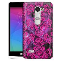 LG Leon Damasks Floral Pink on Nebula Slim Case