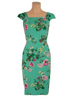 Caroll Dress in Jade - Frock & Soul