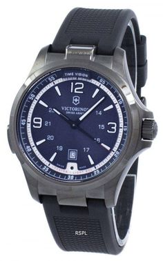 World superb Swiss Army Watch. Victorinox Swiss Army Night Vision GMT Quartz 241596 Men's Watch Source: www. Big Watches, G Shock Watches, Best Watches For Men, Luxury Watches For Men, Cool Watches, Victorinox Swiss Army, Swiss Army Watches, Classy Men, Beautiful Watches