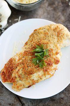 Garlic Parmesan Chicken Recipe