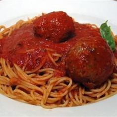 Richard and Suzannes Famous Spaghetti Sauce Allrecipes.com