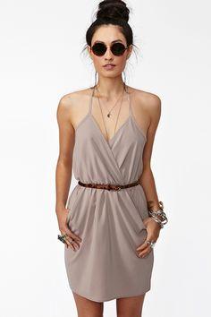 vegas dress - beige
