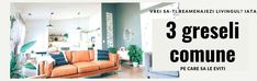 Vrei sa-ti reamenajezi livingul? Iata 3 greseli comune pe care sa le eviti Minimalism, Couch, Furniture, Home Decor, Houses, Settee, Decoration Home, Sofa, Room Decor