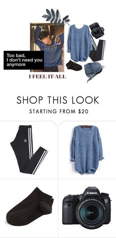 """Lazy"" by kozumekenmax ❤ liked on Polyvore featuring adidas, Wolford, Eos and Issey Miyake"