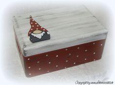 Kisten & Boxen - ♥♥♥ ERINNERUNGSKISTE Taufe Geburt Wichtel Zwerg♥♥♥ - ein Designerstück von Alexandra-Sangs bei DaWanda