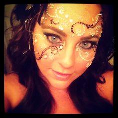 Mascarade make-up mask...With jems