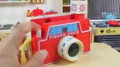 Kid Toy / Fisher Price Changeable Picture Disk Camera / 아이장난감 / 피셔프라이스 체...