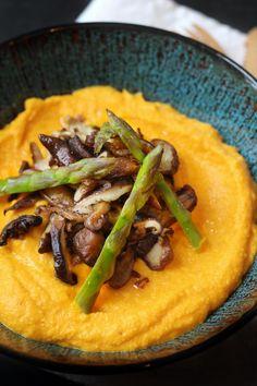 Carrot Mushroom Mushroom - organic in my bento - Vegan Recipes Vegetable Soup Recipes, Pureed Food Recipes, Vegetable Drinks, Vegan Recipes, Cooking Recipes, Cooking Ideas, Healthy Crock Pots, Bento, Food Porn