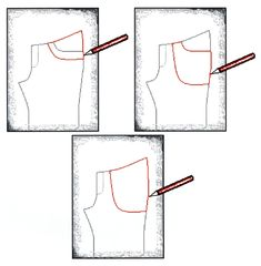 Add pockets to pant / trousers pattern