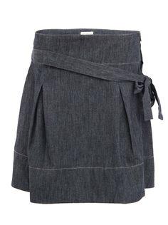Šedá džínová sukně Tranquillo YUKIJI