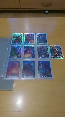 1994 marvel masterpieces #complete 10 card #silver #holofoil chase set nm/mint,  View more on the LINK: 	http://www.zeppy.io/product/gb/2/141871582485/