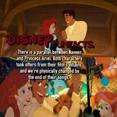 Disney Fact The little mermaid princess and the frog (were*)