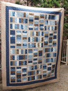 Blue quilt jelly roll   BLUE QUILTS