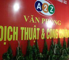 Công ty dịch thuật A2Z tại Hà Nội (Hanoi)