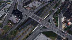 Compact urban interchange on Cities Skylines - Imgur