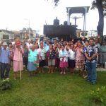 Señores de la tercera edad de Santo Tomás realizan City Tour en Iquitos