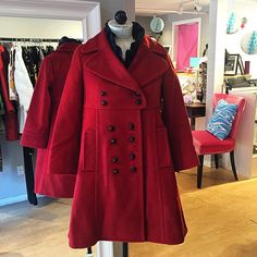 Valentine's Day SALE! Get this gorgeous wool Marc by Marc Jacobs military style jacket in perfect condition in a size Medium for only $125 ❄️⛄️❤️ #marcjacobs #wishnewport #newportri #shoppingonline #shopconsignment #imfreezing #valentinesgift