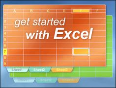 Columns, rows, and cells are what you see when you open Excel