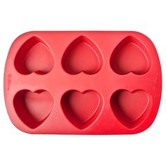 Create bath melts and exfoliating sugar scrubs with Wilton's Heart Mold Silicone Mold. A mold to have on hand for making soaps and cosmetics for Valentine's Day, Mother's Day, Anniversaries, and Weddings.