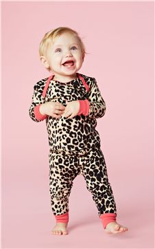 Bedhead Baby Wild Thing Animal Print PJs | Living Water Home Spa Shop #bedhead #pjs #kids #infant #baby #luxury #animal #leopard