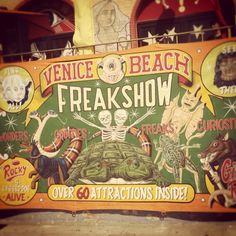 carnival freak show - Google Search