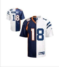 9daacc1664e61 Peyton Manning No.18 Colts-Broncos Jerseys Nfl Football Players