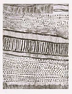 Quilting inspiration: Kutuwulumi Purawarrumpatu (Australian, born ca. died in Untitled, lift-ground etching, aquatint, black ink on ivory wove paper Textile Patterns, Textile Art, Print Patterns, Textiles, Style Patterns, Pattern Art, Kunst Der Aborigines, 3d Foto, Aboriginal Painting