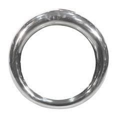 Hoop Mirror Silver