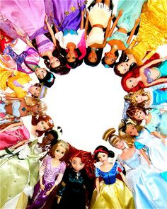 Disney girls dolls and I have them all...what? I'm not ashamed to admit it! DISNEY FOR LIFE!
