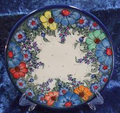 De Cherie Polish Pottery Dinner Plate