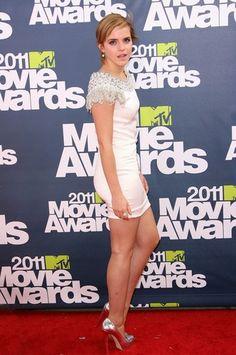 Emma Watson Legs, Photo Emma Watson, Emma Watson Images, Emma Watson Hot, Emma Watson Sexiest, Emma Watson Beautiful, Claudia Winkleman, Elle Style Awards, Mtv Music