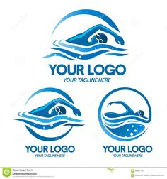 Logo Swimming Sport - Download From Over 58 Million High Quality Stock Photos, Images, Vectors. Sign up for FREE today. Image: 56497713