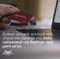 Filipino quotes Hugot Lines Tagalog Funny, Tagalog Quotes Hugot Funny, Hugot Quotes, Tagalog Love Quotes, Sad Love Quotes, Life Quotes, Memes Pinoy, Pinoy Quotes, Filipino Quotes