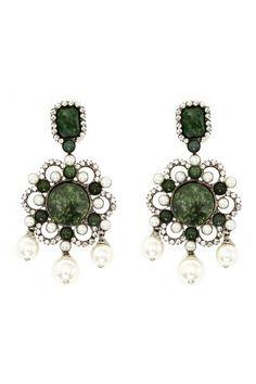 Larry Vrba Evie Earrings | PinkClouds | Vintage Fashion