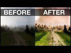 Landscape Photo Tutorial: Basic Lightroom and Photoshop Workflow - YouTube