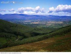 View of the Vee Gap, Knockmealdown Mountains, Co Waterford, Ireland