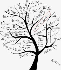Illustration of Math tree for your design vector art, clipart and stock vectors. Clipart, Math Logo, Illustrations Médicales, Math Design, Cartoon Trees, Hand Sticker, Photo Libre, Black Tree, Math Art