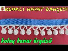 Tığ İşi Bonbon Kenar Örgüsü (Battaniye, Lif, örgü İçin) Anlatımlı Yaorgupılışı - Örgü Dantel Oya El İşi - YouTube Macrame Bracelet Diy, Macrame Knots, Crochet Earrings, Weaving, Elsa, Make It Yourself, Blanket, Youtube, Knitting
